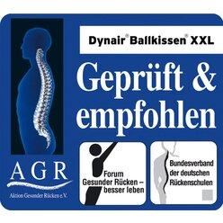 TOGU® Dynair Ballkissen XXL Meditation 50 cm rot