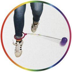 Hüpf-Kreisel Skip Ball, Motorikspiel, ab 3 Jahre