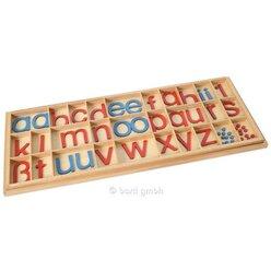 Kasten für Bewegliches Alphabet, groß, Druckschrift, ab 5 Jahre