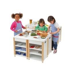 Küchen-Regal für Kindergarten-Modulküche, 2-6 Jahre