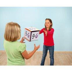 1 Pocket Cube, 15 x 15 x 15 cm, Schaumstoffwürfel, 3-12 Jahre