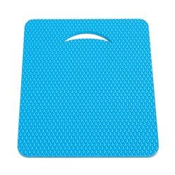Sitzkissen mit taktiler Oberfläche 38x32 cm, blau