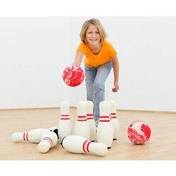 Soft-Bowling-Set inkl. Tasche, ab 5 Jahre