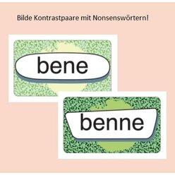 Richtig schreiben: Einfach oder doppelt?, Kartenspiel,  ab 9 Jahre