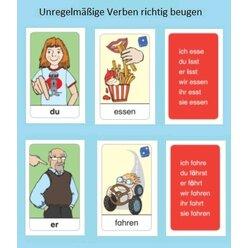 Deutsch Lernen: Ich lese - du liest - Unregelmäßige Verben beugen