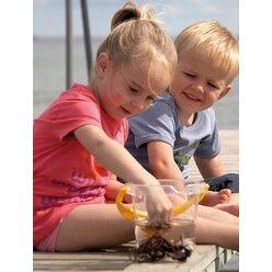 dantoy® Sandspielzeug, Eimer transparent klar, 1 Stück, Höhe 14cm