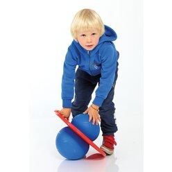 TOGU® Moonhopper blau/pink, Hüpfball für Kinder bis 70 kg