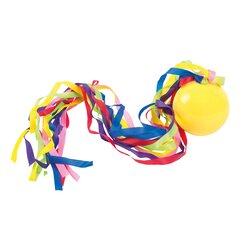 Spordas® Poco Ball, Fangball mit Textilbändern, ab 3 Jahre