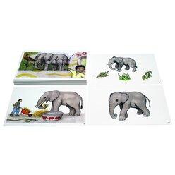 Kon-Lab Bildergeschichte Besuch im Zoo, 0-10 Jahre