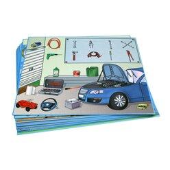 Kon-Lab Kartensatz Das Wortschatzhaus, 0-10 Jahre