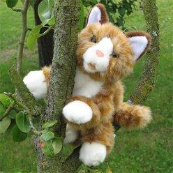 Living Puppets  braune Katze  Handpuppe W044