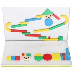 Magnetspielbox Kugelbahn 32 Teile