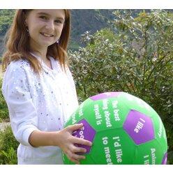 Lernspielball Icebreaker Englisch Ø 35cm