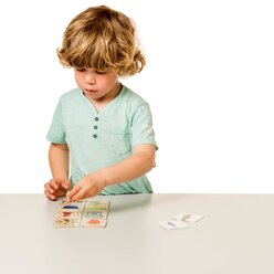 Was fehlt noch?, Wortschatzspiel mit Aufgabenkarten, ab 3 Jahre