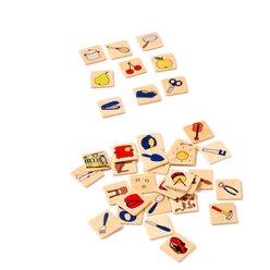 Drei passen, finde sie!, Bildkarten-Zuordnungsspiel, ab 3 Jahre