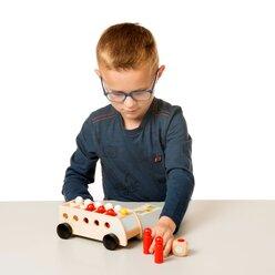Mathe Bus, Rechenspiel mit Aufgabenkarten, ab 3 Jahre