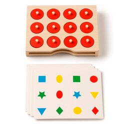 Suchen und Finden, Memospiel mit Aufgabenkarten, ab 3 Jahre