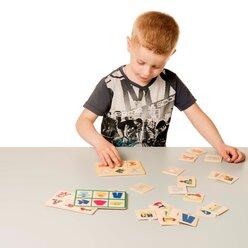 Wort-Bingo, Wortschatzspiel, ab 3 Jahre