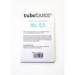 tuboTANDI Saugschlauch aus Silikon No. 0,5