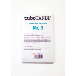 tuboTANDI Saugschlauch aus Silikon No. 3