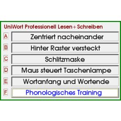 Universelles Worttraining Standard (Einzellizenz) UniWort