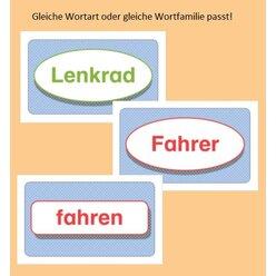 Sprache betrachten: Wortarten-Garten