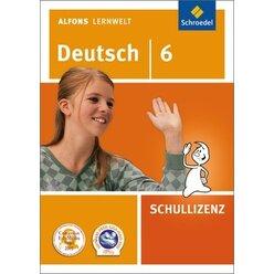 Alfons Lernwelt Deutsch 6 Schullizenz, DVD-ROM