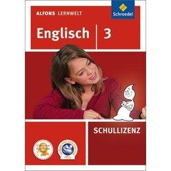 Alfons Lernwelt Englisch 3 Schullizenz