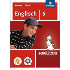 Alfons Lernwelt Englisch 5 Schullizenz