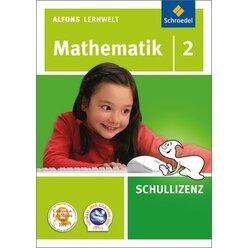 Alfons Lernwelt Mathematik 2 Schullizenz