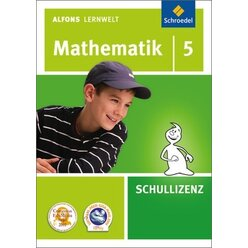 Alfons Lernwelt Mathematik 5 Schullizenz, DVD-ROM