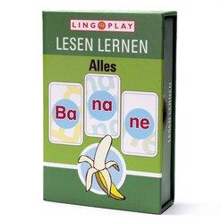 Lesen Lernen Alles Ba-na-ne! - Lesespiel mit 3-silbigen lauttreuen Wörtern, ab 7 Jahre