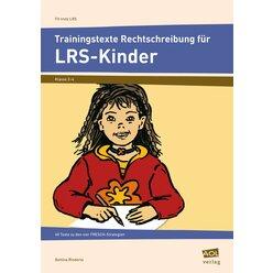 Trainingstexte Rechtschreibung für LRS-Kinder