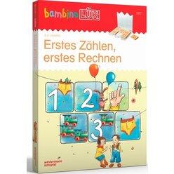 bambinoLÜK-Set Erstes Zählen, erstes Rechnen, Heft inkl. Lösungsgerät, 3-6 Jahre