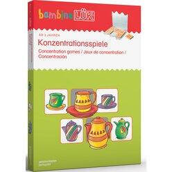 bambinoLÜK Set Konzentrationsspiele, 3-5 Jahre