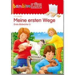 bambinoLÜK Meine ersten Wege, Heft, 2-3 Jahre
