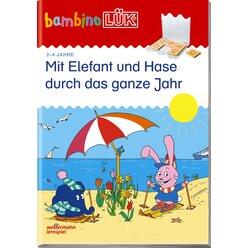bambinoLÜK Mit Elefant und Hase durch das ganze Jahr, 2-4 Jahre
