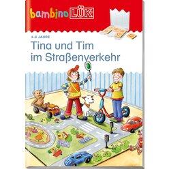 bambinoLÜK Tina und Tim im Straßenverkehr, Heft, 4-6 Jahre