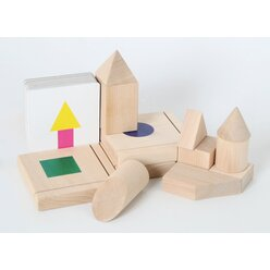 3-D-Lernspiel geometrische Körper, ab 5 Jahre