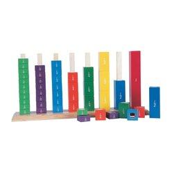 Farbentürme, Lernspiel Mathematik, ab 5 Jahre