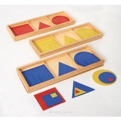 Quadrate, Dreiecke und Kreise Satz