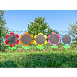 Blumen-Tafeln, 5er-Set, für In- und Outdoor