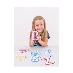 Buchstaben zum Fühlen und Nachspuren, 5-7 Jahre
