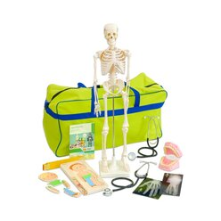 Meine Körpertasche, Materialsammlung mit Skelett, 4-10 Jahre