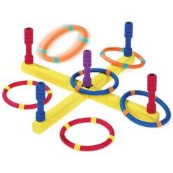 Soft-Wurfspiel mit 6 Ringen, 4-15 Jahre