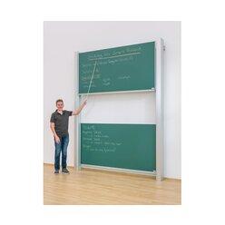 Pylonen-Doppeltafel, GS-geprüft, weiß, 300x120 cm (Lieferzeit 8-10 Wochen nach Auftragseingang)