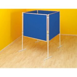 Komplett-Set B: Raute Profi-Stellwände, blau