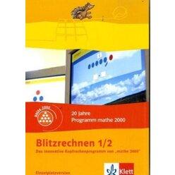 Blitzrechnen, 1./2. Schuljahr, 1 CD-ROM (Einzellizenz)