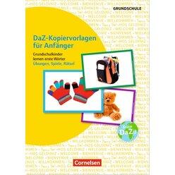 DaZ-Kopiervorlagen für Anfänger - Grundschulkinder lernen erste Wörter · Übungen, Spiele, Rätsel