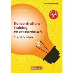 Konzentrationstraining für die Sekundarstufe, Kopiervorlagen, 5.-10. Klasse